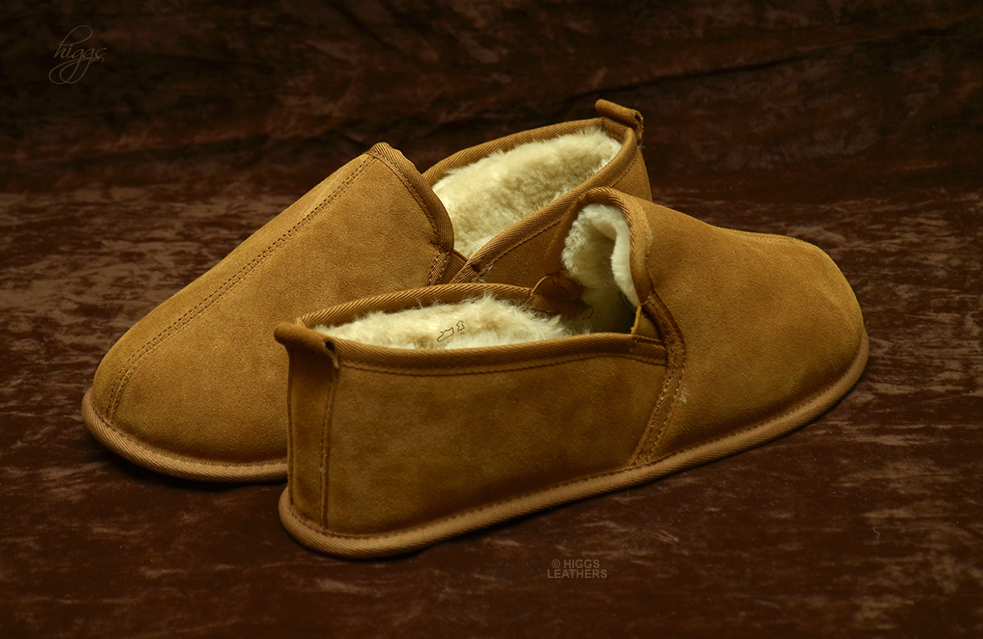 Higgs Leathers {Sizes 6 to 13}   Ambleside (men's Sheepskin slippers) Pamper your tootsies!