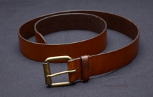 Higgs Leathers ALL SOLD!  Style 84042 (men's Antique Tan Leather belts)