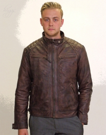 Higgs Leathers ALL SOLD!  Sergei (men's Budget Leather Bikers jackets)