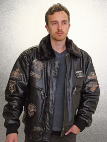Higgs Leathers SOLD!Marauder (men's Leather Flying jackets)
