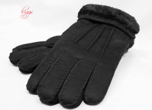 Higgs Leathers Sizes S to XL  Glen (men's Sheepskin gloves)