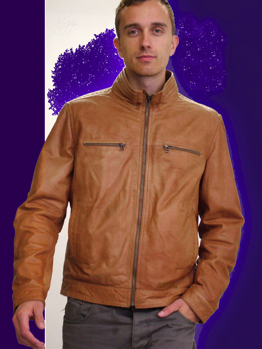 Higgs Leathers Alan (men's Leather Bikers jackets)