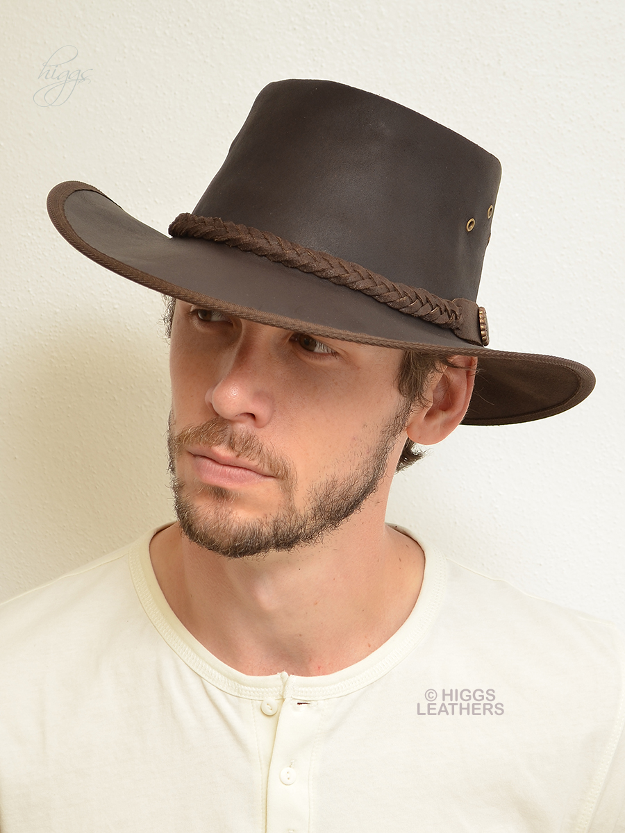 307c45b0472 Bushman (men s Outback style Leather hats)