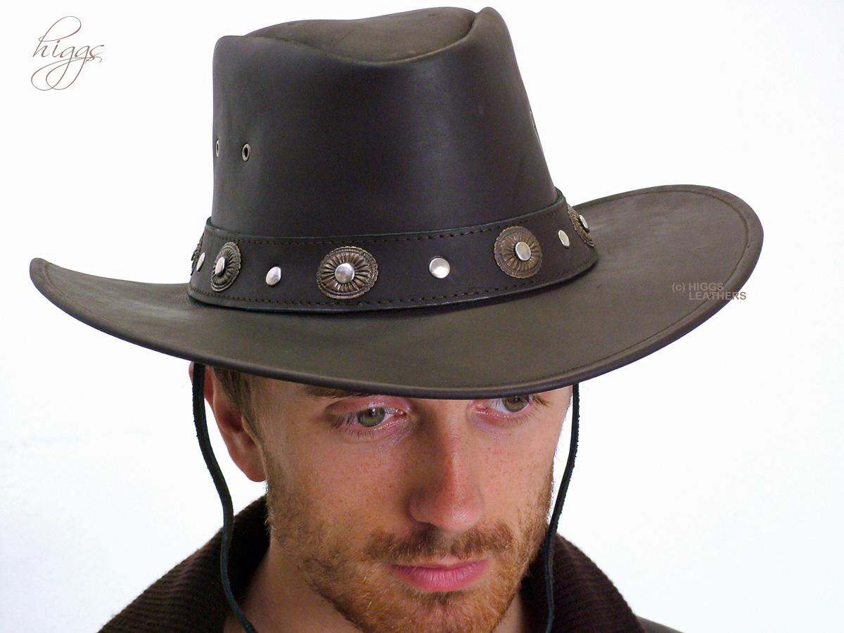 a6ab4d2f113 Utah (men s brown leather cowboy hats)