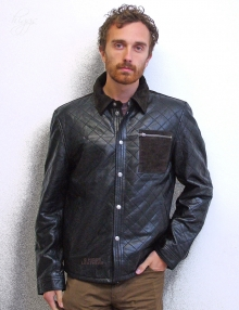 Higgs Leathers LAST FEW!  Andy (mens Designer Leather jackets)