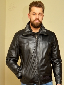 Higgs Leathers ONE ONLY SAVE £80!  Lincoln   (warm lined Black Leather jacket)
