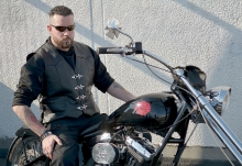 Higgs Leathers ALL SOLD!  Spoiler (men's Black Leather Bikers vests)