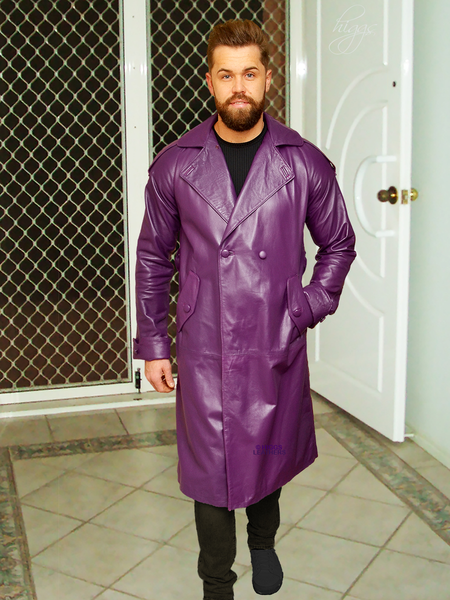 Higgs Leathers Brompton   (outstanding quality Leather Trench coat) If only the very best will do!