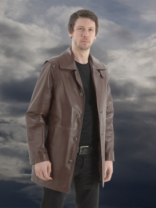 Higgs Leathers LAST ONE SAVE £100!  Toby (men's Designer Leather jacket)
