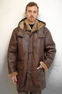Higgs Leathers NEW STOCK!  Rudi (men's sheepskin Duffle coat)