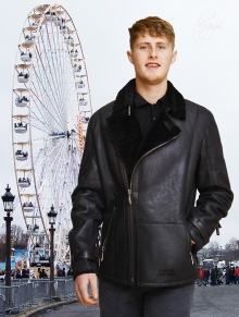 Higgs Leathers ALL SOLD   Colin (men's Designer Sheepskin Flying jackets)