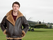 Higgs Leathers SAVE £250!  Spitfire (Special Quality Sheepskin RAF Flying jacket)