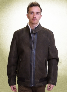 Higgs Leathers LAST ONE!  Ulrik (men's Designer Sheepskin jacket)