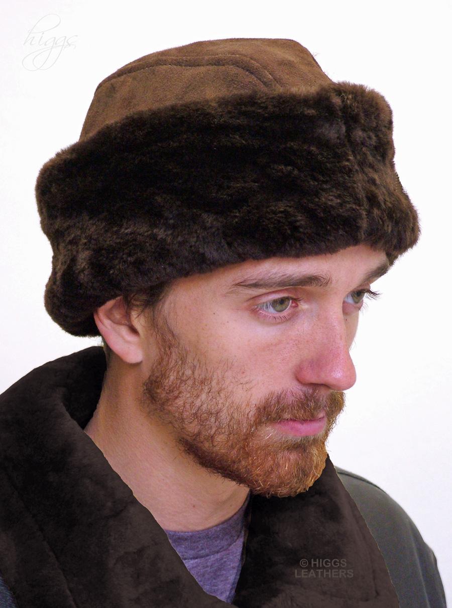 Gorbachev (men s  Russian  style Sheepskin hat 5566a86d191