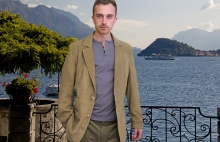 Higgs Leathers NEW!  Benedict (men's Kidskin Suede Blazer jackets)